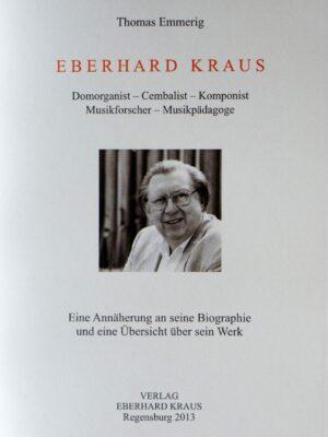 Thomas Emmerig: Eberhard Kraus