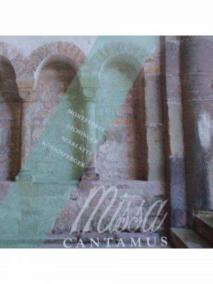 """CD """"Missa"""" mit dem Vokalensemble Cantamus Furth im Wald unter der Leitung von Wolfgang Kraus"""