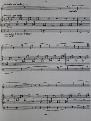 Felix Mendelssohn-Bartholdy (1809-1847): Zwei Lieder ohne Worte für Querflöte und Orgel bearbeitet