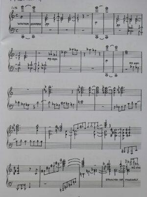 Eberhard Kraus: Jahreszeiten – Vier Stimmungsbilder für Klavier 2001