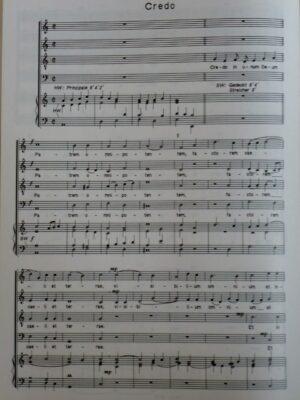 Joseph Riepel (1709-1782): Missa brevis für vierstimmigen Chor und Orgel ad libitum