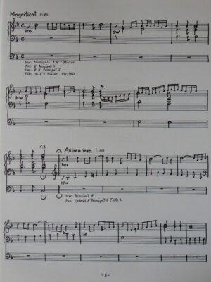 Claudio Monteverdi: Magnificat für Orgel bearbeitet