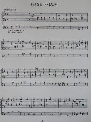 Giuseppe Verdi: Zwei Fugen für Orgel bearbeitet
