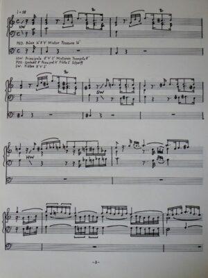 Wolfgang Amadeus Mozart: Ouverture C-Dur KV 399 für Orgel bearbeitet