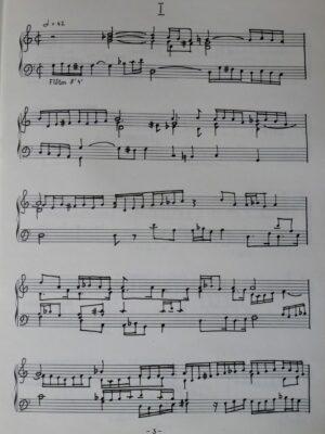 """Heinrich Schütz: Madrigale """"O primavera"""" für Orgel bearbeitet"""