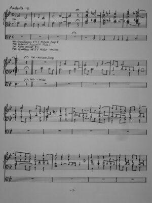 Charles Gounod (1818-1893): Phantasie über die Intonation des IV. Choral-Credo für Orgel bearbeitet
