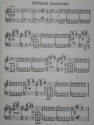 Eberhard Kraus: Bayerisches Tafern-Konzert für Cembalo oder Klavier 1992