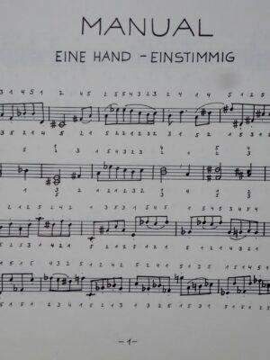 12×12 Übungen zur Orgelspieltechnik Band 1 manualiter