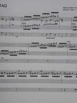 Eberhard Kraus: Epistel-Meditationen für Orgel Band 2